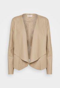 ONLLIANA DRAPY JACKET - Summer jacket - silver mink