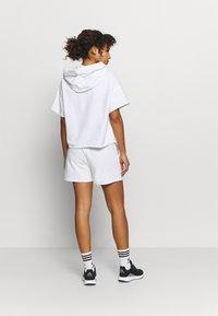 DKNY - SHORT LOGO DRAWCORD - Sports shorts - white - 2