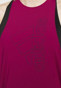 adidas Performance - TECH BOS TANK - Funktionsshirt - berry - 4
