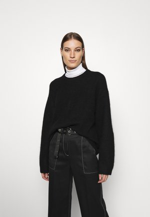 SWEATER - Jumper - black dark