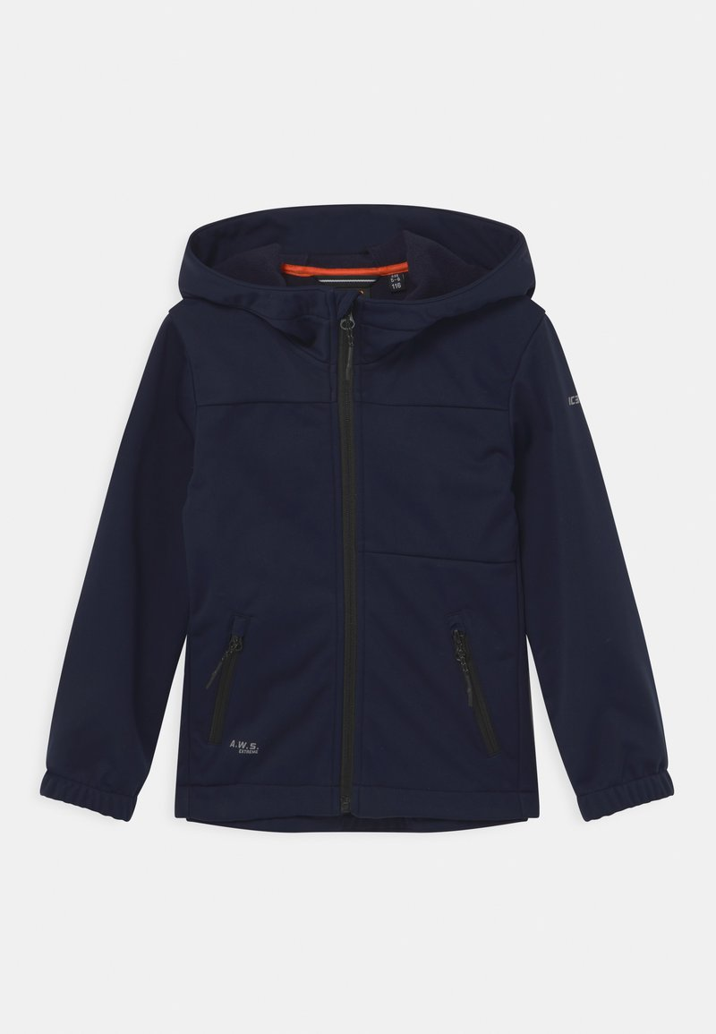 Icepeak - KARS UNISEX - Soft shell jacket - blue