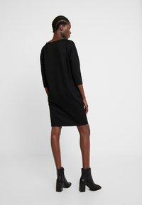 Opus - WILLIS GLITTER - Jersey dress - black - 3