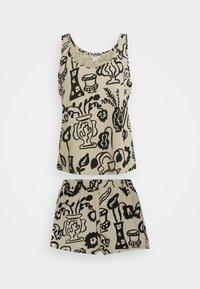 Monki - TAVI - Pyjama - beige - 5