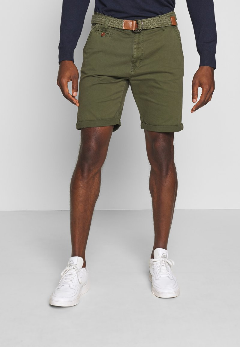 INDICODE JEANS - CONER - Shorts - army