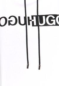 HUGO - NEMOLIA - Sweatshirt - white - 5