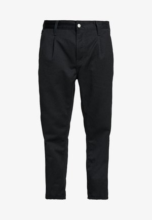 ABBOTT PANT DENISON - Trousers - black rinsed