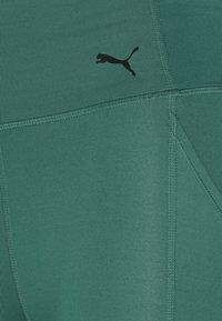 Puma - FAVORITE FOREVER HIGH WAIST 7/8 - Punčochy - blue spruce - 5