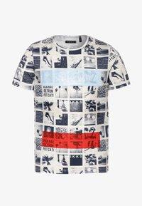 IKKS - TEE - T-shirt imprimé - beige clair chiné - 0