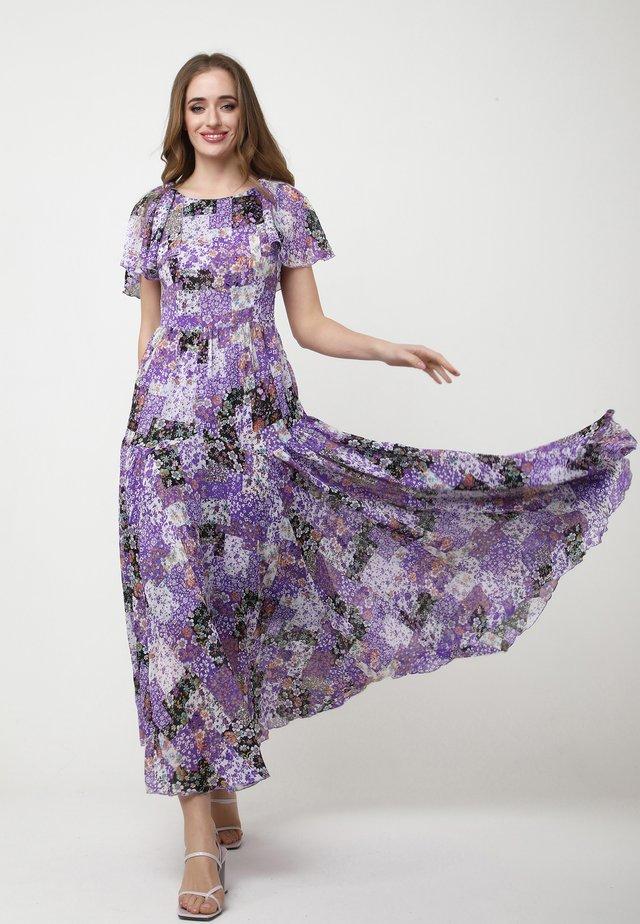 ELIZABETTA - Vestito lungo - weiß, lila