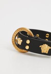 Versace - BRACCIALE UNISEX - Bracelet - nero/oro - 4