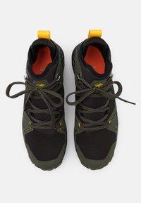 Mammut - SAENTIS PRO WP - Hiking shoes - dark iguana/freesia - 3