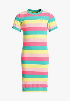 Gebreide jurk - multi-coloured