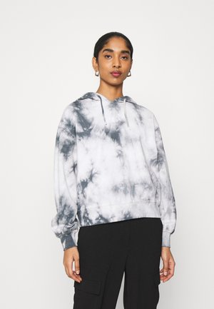 TIE DYE HOODY - Sweatshirt - dark grey
