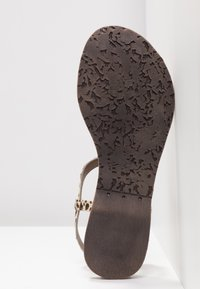 Lazamani - T-bar sandals - beige - 6
