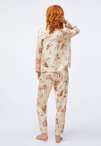 OYSHO - BIRD PRINT  - Nattøj trøjer - beige - 1