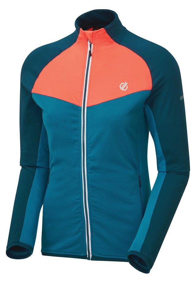 ALLEGIANCE  - Fleece jacket - petrolb/morr