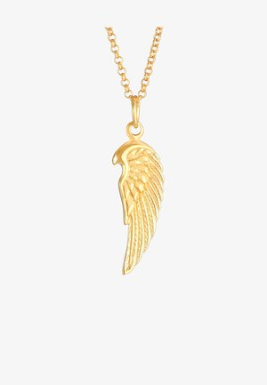 WING DESIGN - Necklace - gold
