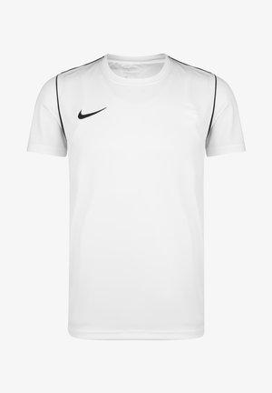 Basic T-shirt - white / black