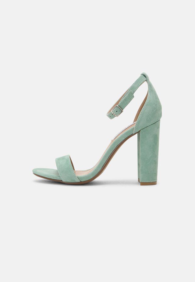 CARRSON - Sandalen met hoge hak - mint green