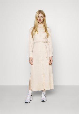 BELTED DRESS - Maxikjole - beige