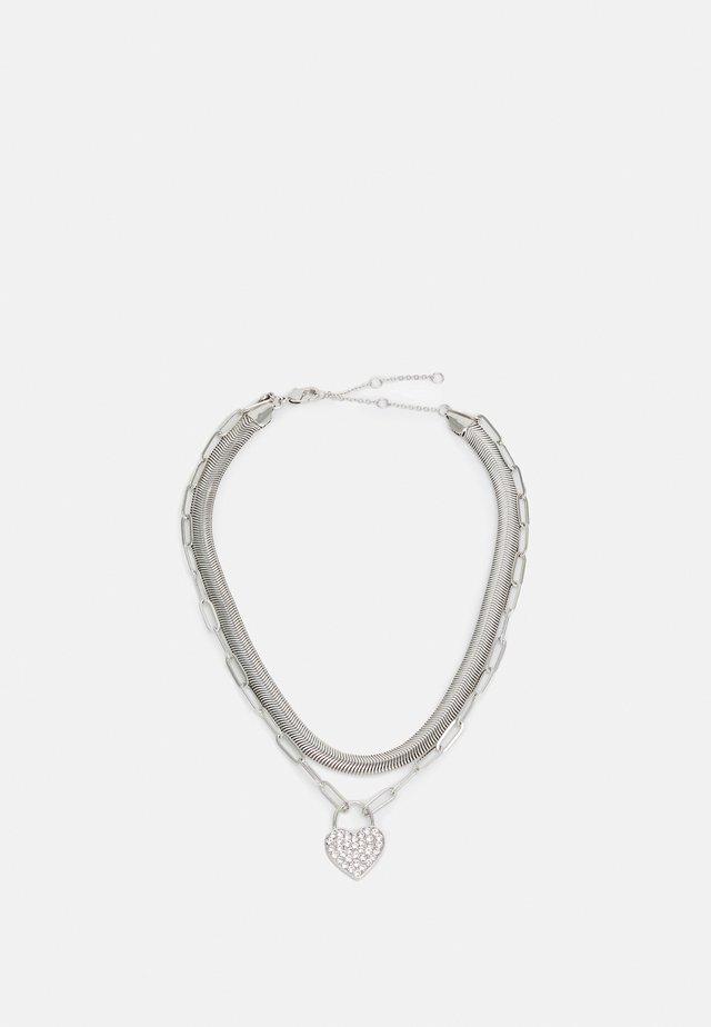 CERAN - Necklace - silver-coloured