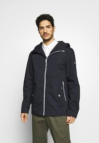 Solid - JACKET HUNT - Summer jacket - dark blue - 0