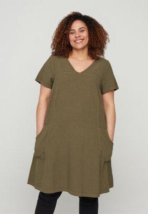 Robe d'été - ivy green