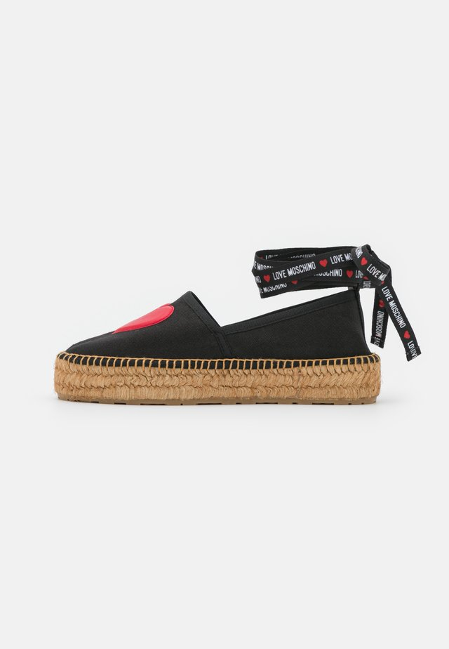 EXCLUSIVE - Espadrilles - black