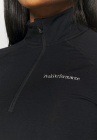 Peak Performance - MAGIC HALF ZIP - Undershirt - black - 5