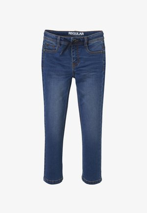 Jeans a sigaretta - blue stone