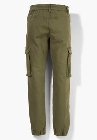s.Oliver - SKINNY FIT - Cargo trousers - khaki - 2