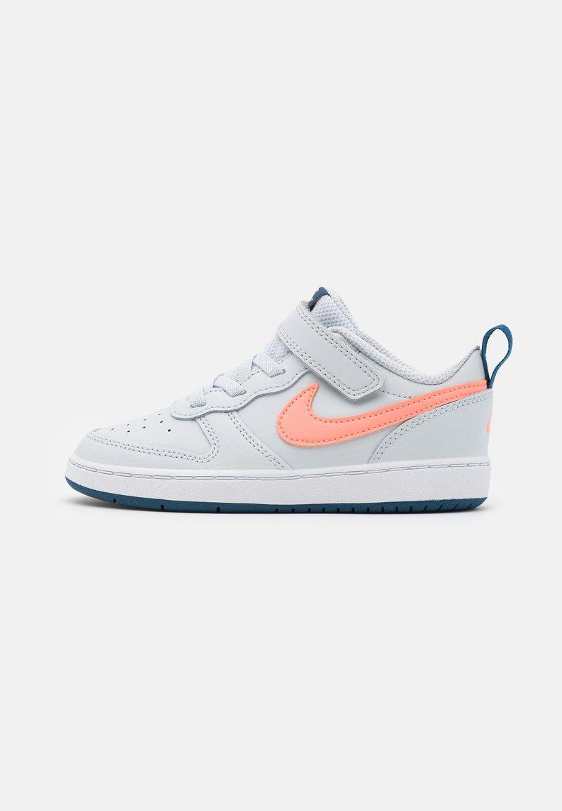 Nike Sportswear - COURT BOROUGH LOW 2  - Trainers - pure platinum/atomic pink/valerian blue/white