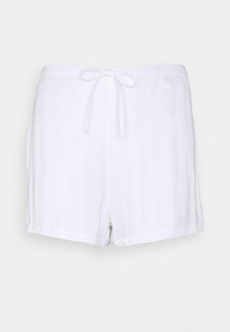 Calvin Klein Underwear - SLEEP SHORT - Pyjama bottoms - shine white