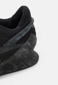 Reebok - LEGACY LIFTER II - Sports shoes - core black/pure grey 8/pure grey 7 - 5