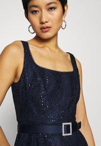 Adrianna Papell - DOT SEQUIN GOWN - Vestido de fiesta - light navy - 6