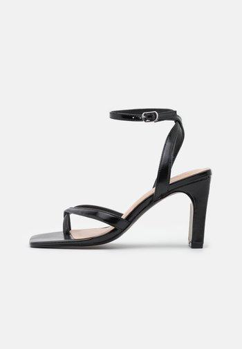CAWIEL - Sandaler med høye hæler - black