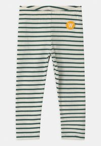Wood Wood - IRA UNISEX - Legíny - off-white/faded green - 0