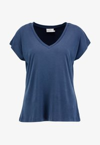 Kaffe - LISE - Basic T-shirt - midnight marine - 3