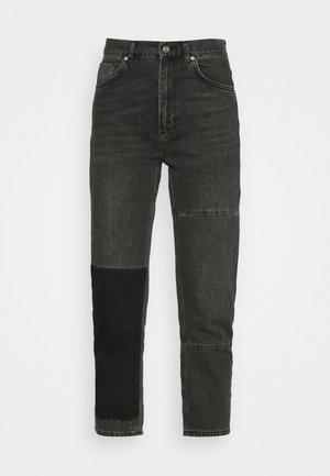 STRAIGHT LEG PANEL  - Straight leg jeans - antracite
