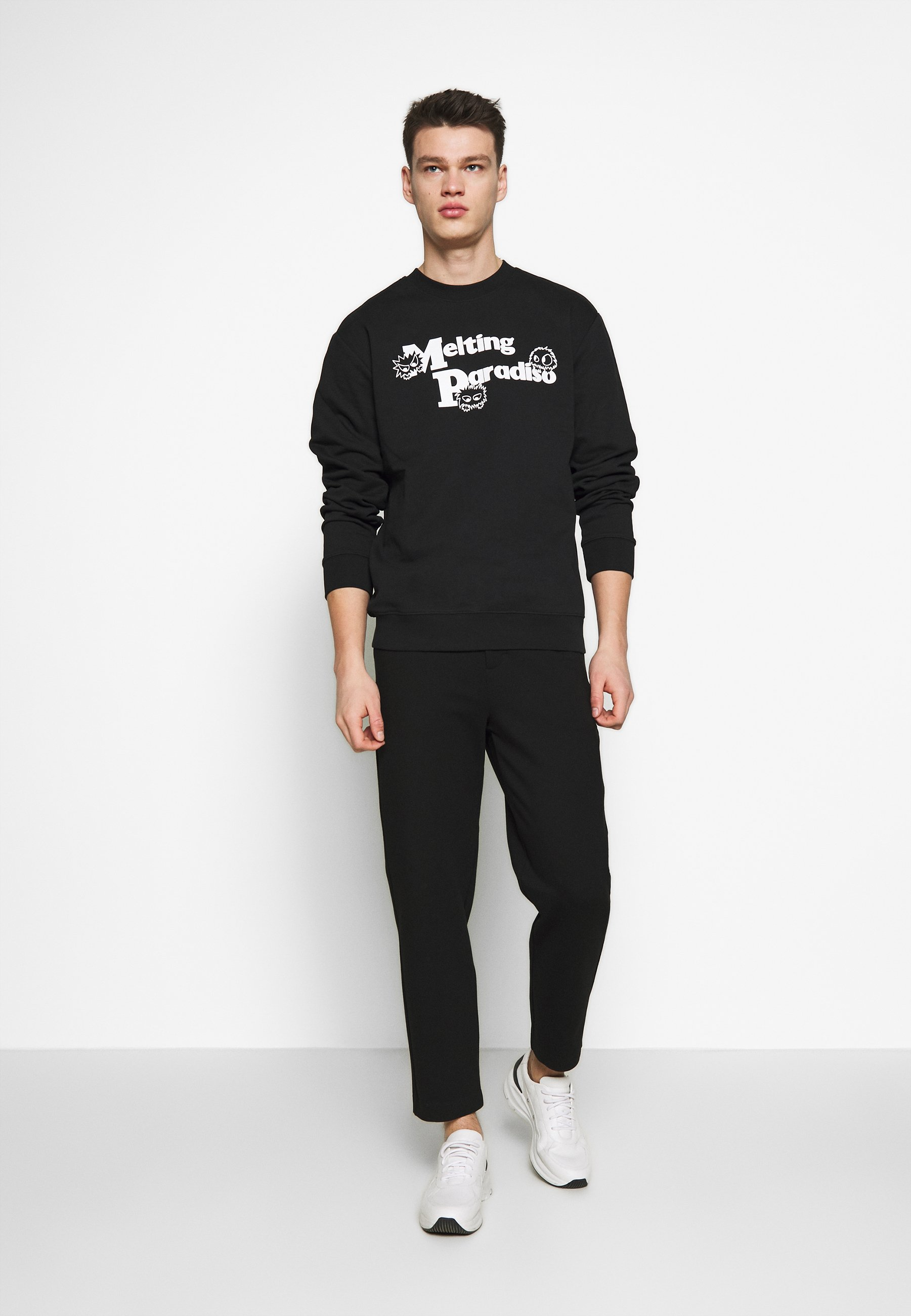 McQ Alexander McQueen CREW NECK - Sweatshirt - darkest black
