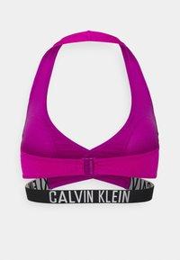 Calvin Klein Swimwear - INTENSE POWER CROSSOVER BRALETTE - Bikini pezzo sopra - purple - 6