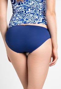 Lauren Ralph Lauren - BCS SOLID HIPSTER LOGO PLATE - Bikini bottoms - sapphire - 1