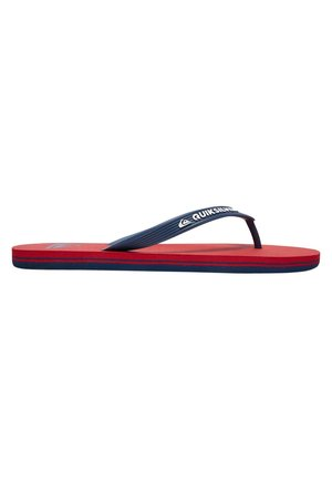 MOLOKAI - Teenslippers - red/blue/red