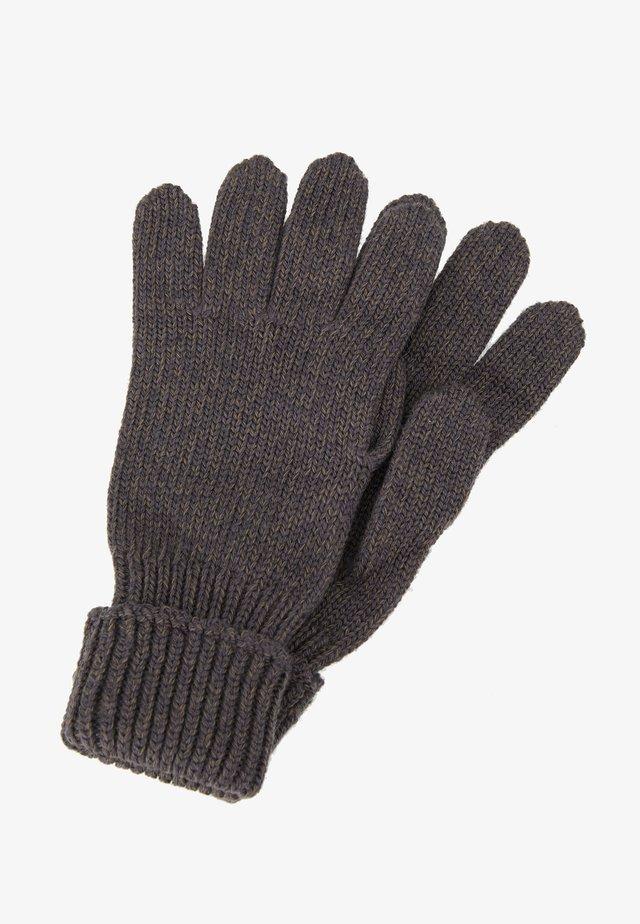 Rękawiczki pięciopalcowe - schiefer