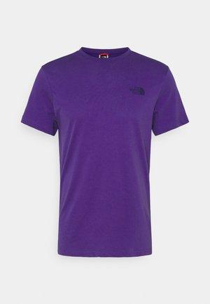 MENS SIMPLE DOME TEE - Basic T-shirt - peak purple