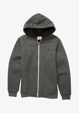 ALL DAY SHERPA - MIT REISSVERSCHLUSS - Zip-up sweatshirt - black