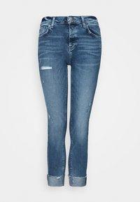 Zúžené džíny - denim medium