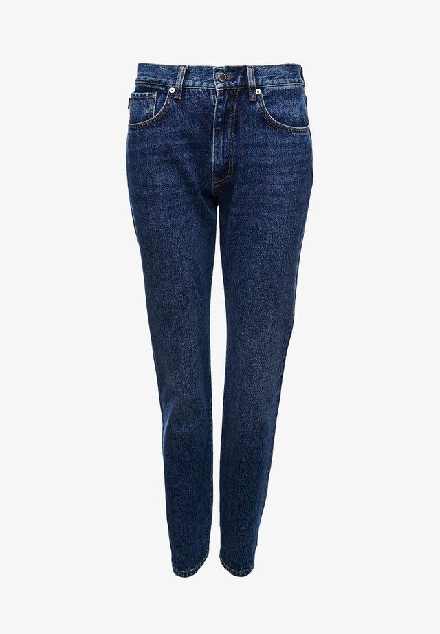 Straight leg jeans - clinton blue stone