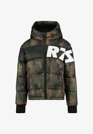 TACOMA - Winter jacket - camouflage green