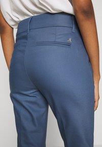 Mos Mosh - BLAKE NIGHT LONG PANT - Spodnie materiałowe - indigo blue - 3
